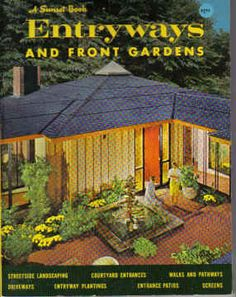 1960s MID CENTURY MODERN Entryways and Front Gardens by populuxe