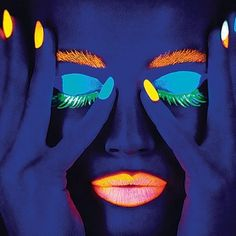 ☮✿★ Neon Makeup ✝☯★☮ #neon - ☮k☮