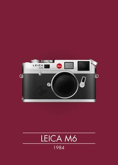 classic cameras by Manu Talavera, via Behance