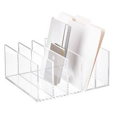 5-Section Premium Acrylic Collator