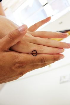 Circle of Love Wedding Ring Tattoo
