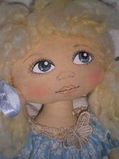 Linda!!! Trabalho perfeito  da Olívia Cruz=Idéias e Panos Country Dolls.