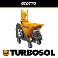 Conoce a Giotto la exclusiva máquina diseñada para aplicar enfoscados http://wp.me/p6LQar-d #Turbosol #Premecol #Cassaforma #Construcción #CuidaElMedioAmbiente #PanelDescanso #PanelEscalera #PanelLoza #PanelSimple #TurbosolGiotto