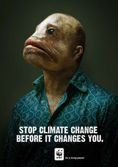 Mutant Human Fish (wwf awareness adverts)