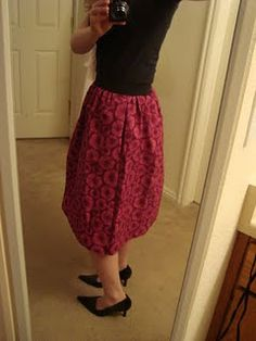 tutorial for how to sew a beautiful skirt
