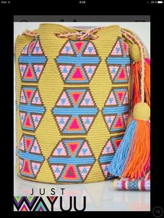 Pouches, Ipad, Tapestry, Pattern, Bags, Backpack Purse, Purses, Totes, Manualidades
