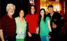 Merrill, Mary, Eric (Jays son), Michelle and dad Wayne.