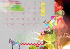 Mi Low Cost: imprimible: calendario junio 2012