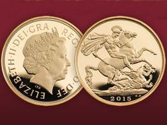 Royal Mint Sovereign 2015