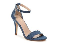 Shop Women's Mix No. 6 Blue size Heels at a discounted price at Poshmark. Description: Adorable, go with anything jean high heels. Lace Up Espadrilles, Lace Up Sandals, Dress Sandals, Strappy Sandals, Women's Shoes Sandals, Womens Clearance, Clearance Shoes, Denim Shoes, High Jeans