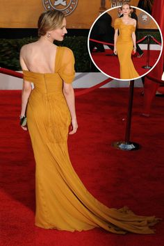 The best red carpet dresses from the back: Diane Kruger in Jason Wu at the 2010 Screen Actors Guild Awards.