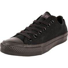 buy online 50791 8432d Converse - CT All Star Classic Low Canvas Sneaker (Big Kid) - Black Mono