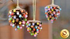 awesome Handmade Christmas Decoration - Handmade Christmas Toy of the Cones .