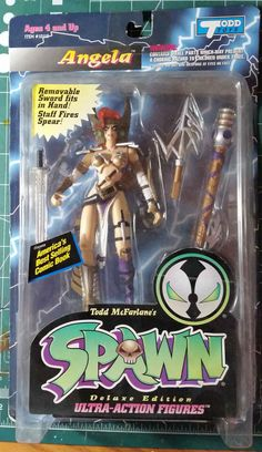 Todd Toys Angela Spawn Ultra Action Figure | eBay