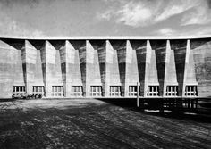 Imabari City Hall Complex — Imabari, Japan (1958) by Kenzo Tange
