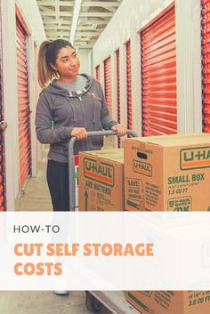 We all get more than enough bills each month, so it's important to save money where you can. For some people a storage unit isn't just a luxury; it's an absolute necessity, but that doesn't mean there aren't other ways to cut self storage costs. Click through for five easy ways you can start saving money. I Storage Ideas