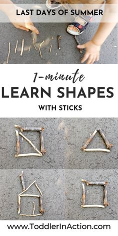 Five, Six Pick Up Sticks - A Simple Sticks Activity to Try Out Today - Toddler Activities Outdoors 4 Year Old Activities, Outdoor Activities For Toddlers, Forest School Activities, Nursery Activities, Outside Activities, Nature Activities, Toddler Learning Activities, Montessori Activities, Spring Activities