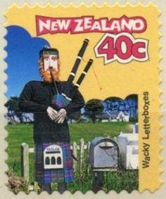 Stamp: Piper (New Zealand) (Curious Letterboxes) Mi:NZ 1595,Sn:NZ 1424,Yt:NZ 1542,Sg:NZ 2069