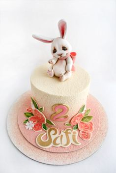 cake with bunny