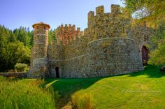 Castello di Amorosa, Calistoga, CA -- has an excellent medieval midsummer festival every year