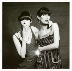 Photo Eric Swayne Peggy Moffitt and Telma, 1966 Eric Swayne hit the scene in 60's London just as Bailey, Duffy and Donovan were redefining the aesthetics and conventions of photography. With his fresh, reportage style and open access to the most iconic faces he eloquently captured what was to become a defining moment in the world's cultural development