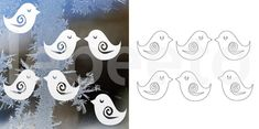 jarní dekorace na okno - Hledat Googlem Fun Crafts, Diy And Crafts, Crafts For Kids, Arts And Crafts, Paper Crafts, Bird Party, Bird Silhouette, Paper Stars, Pop Up Cards
