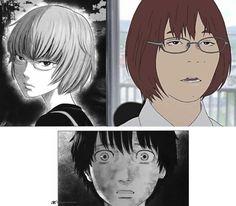 Aku no Hana Anime fail Collages, The Flowers Of Evil, Know Your Meme, Hana, Anime Stuff, Memes, Gallery, Weird, Roof Rack