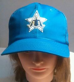 Vintage Sports Specialties 1981-86 Seattle Mariners Snapback Trucker Hat