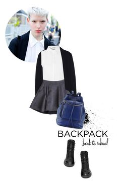 """Backpack for Fall"" by magdafunk ❤ liked on Polyvore"