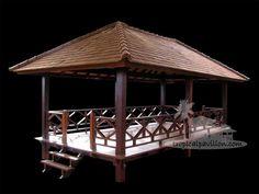 3x6m Bali pavilion