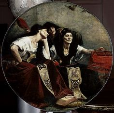 The Greek Fates by Alfred Agache (c. 1885)