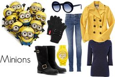 """Despicable Me - Minions"" by jenoeh ❤ liked on Polyvore"