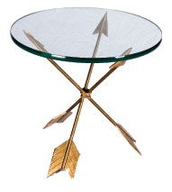 Golden Arrow Table from http://www.timothy-corrigan.com/tchome
