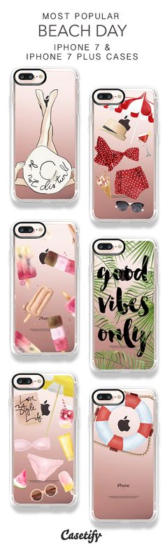 Most Popular Beach Day iPhone 7 Cases and iPhone 7 Plus Cases. More Holiday iPhone case here > https://www.casetify.com/majatomljanovic/collection
