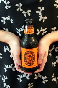 Have you ever tasted real pumpkin?!  Try Woodchuck Pumpkin Hard Cider!