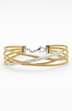 ALOR® Crossover Cable Bangle | Nordstrom