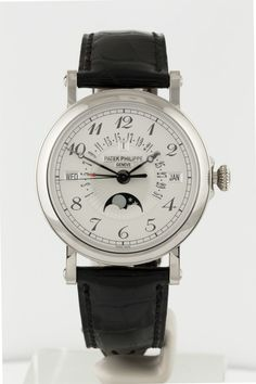 The @patekphilippe Perpetual Calendar with Retrograde Date Hand London Special (Ref. 5159G-012) was created as part of Patek Philippe's 175th anniversary celebrations. More at: http://www.watchtime.com/blog/patek-philippe-perpetual-calendar-with-retrograde-date-hand-london-special/ #patekphilippe #watchtime #horology