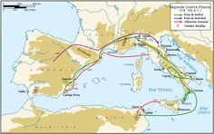Campaigns of the Second Punic War .