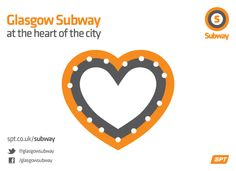 Glasgow Subway, the heart of the city!