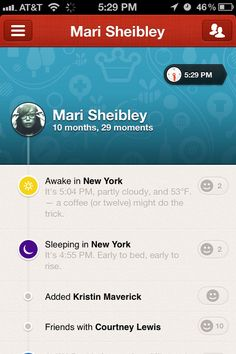 Path App - User Profiles
