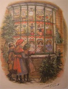 Brown-Studies, Information for book buyers Brown-Studies - John S Goodall - artist & illustrator Christmas Toys, Christmas And New Year, Xmas, Children's Book Illustration, Book Illustrations, Wordless Picture Books, Antique Christmas, Vintage Pictures, Christmas Greetings