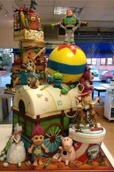 1000 Images About Toy Story Cakes On Pinterest Toy