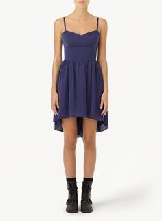 TALULA WOODSTOCK DRESS - An ellipse hem puts a modern spin on a bustier dress