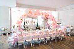 MELINA'S PASTEL PINK 5TH BIRTHDAY - Oh It's Perfect