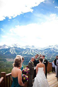 Wedding Photography   Ceremony   The Lodge at Breckenridge, Colorado   http://thelodgeandspaatbreck.com/