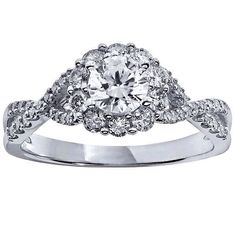Vera Wang Love Collection 7 8 Ct T W Diamond Vintage Style