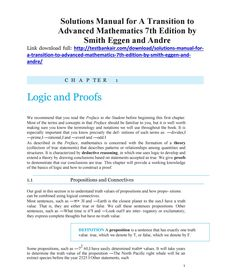 47 best test bank 2 images on pinterest download solutions manual for a transition to advanced mathematics 7th edition by smith eggen and an fandeluxe Choice Image