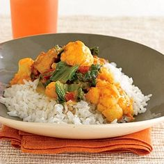 Keep a jar of the curry sauce on hand so you can fix this 5-ingredient chicken and rice dinner whenever you need a quick meal.