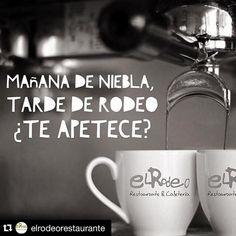 #Repost @elrodeorestaurante  Mañana de #niebla...