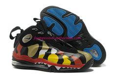 e8e8ab5e8f0 Colorful Nike Total Air Foamposite Max Yellow and Black 472498 071
